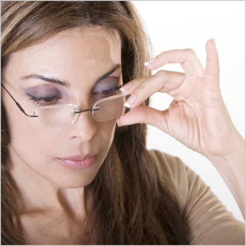 Как накрасить глаза если плохое зрение 114